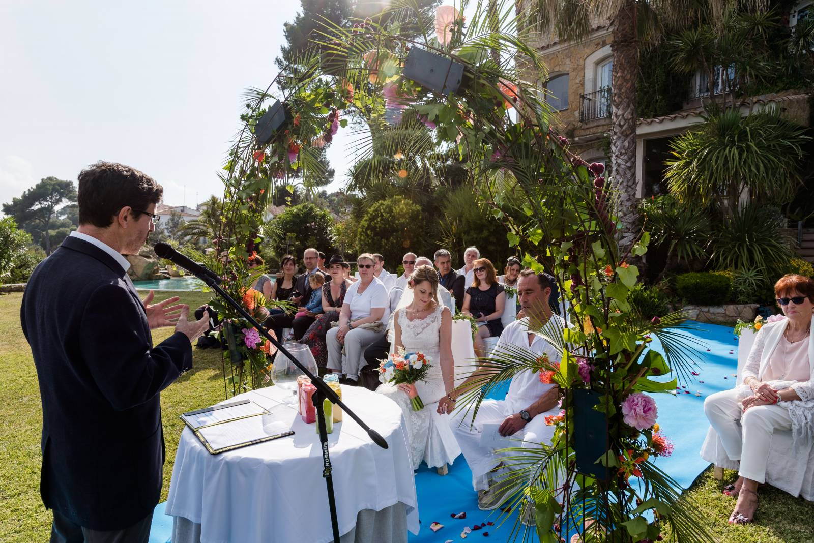 wedding planner officiant laïc