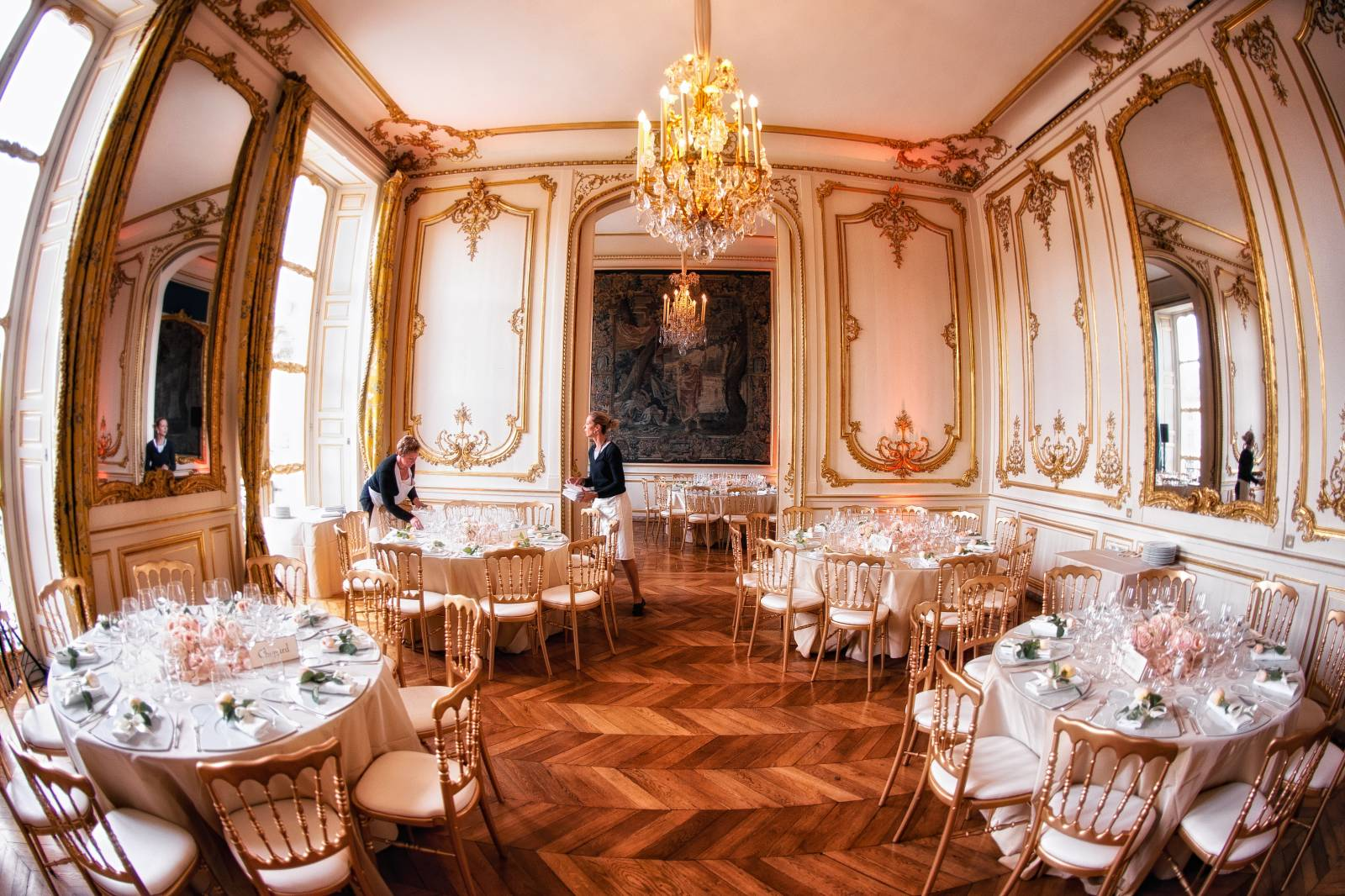 wedding planner hôtel de luxe paris