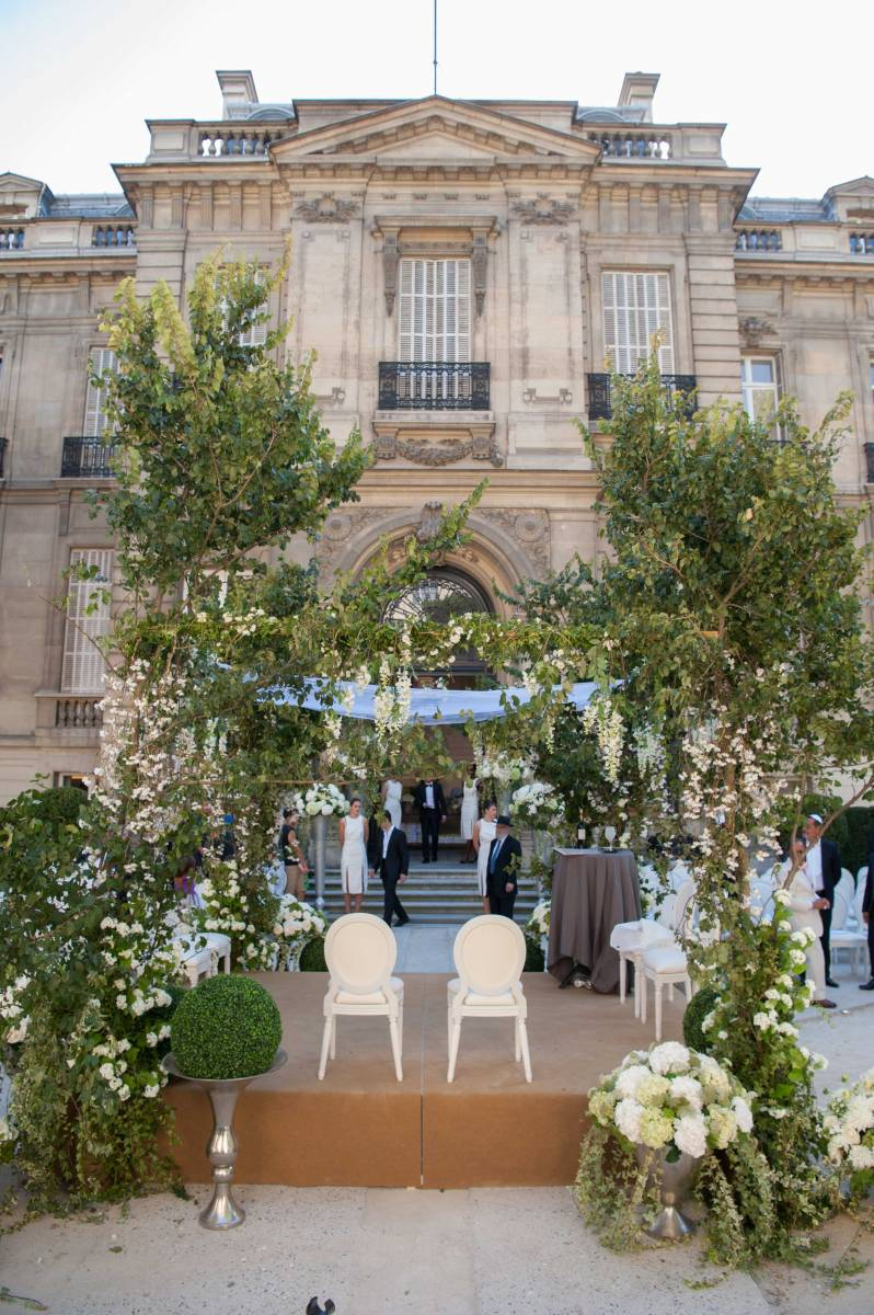 wedding planner Salon Salomon de Rothschild