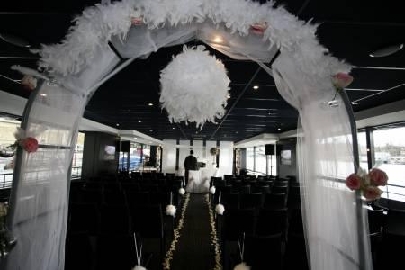 se marier sur une pniche paris - Tarif Organisatrice De Mariage